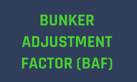 Bunker Adjustment Factor for 2020